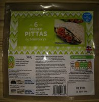 Seeded Pittas - Produit