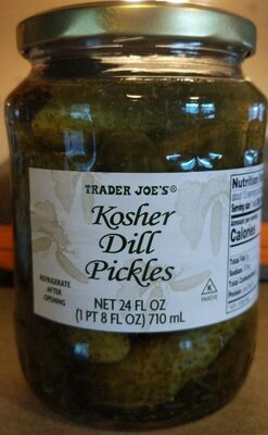 Kosher dill pickles - Product