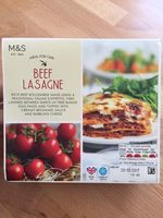 Beef Lasagne - Product