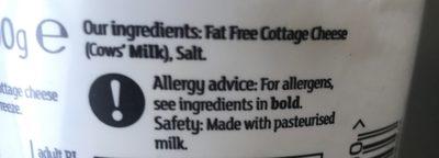 Cotage Cheese - Ingrédients - fr