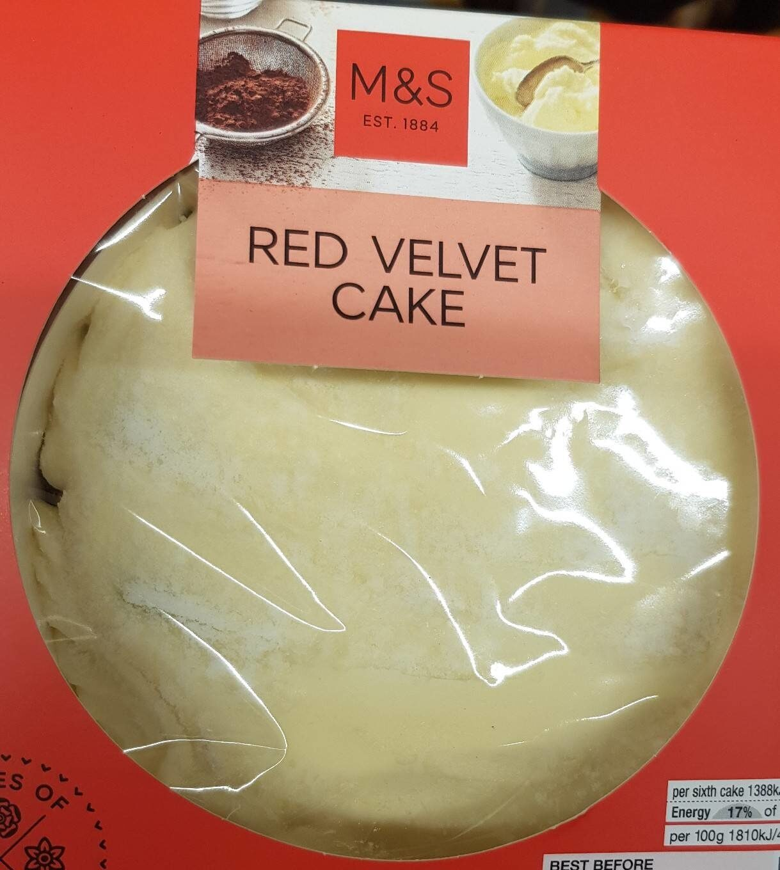 Red velvet cake - Product