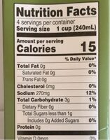 Hearty Vegetable broth - Nutrition facts - en