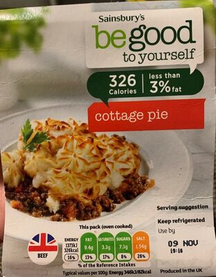 Cottage pie - Product - en