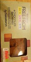 4 chocolat brownies - Produit - fr