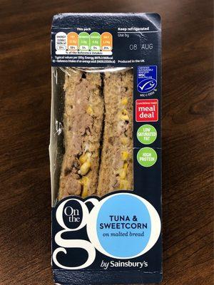 Tuna & Sweetcorn Sandwhich - Product - fr