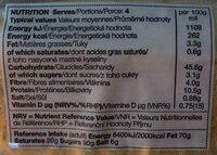 4 soft white submarine rolls - Valori nutrizionali - fr