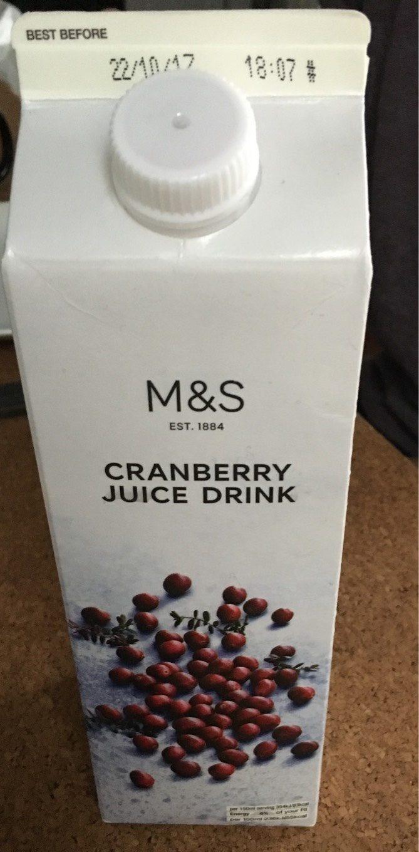 Jus de cranberry - Product