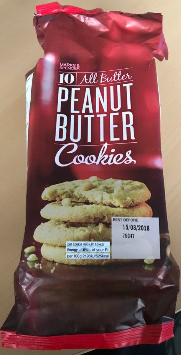 Cookie peanut butter - Product - fr