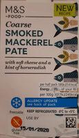 Smoked Mackerel Pate - Product - en