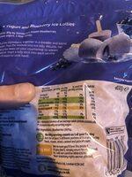 Frozen blueberries - Product - en