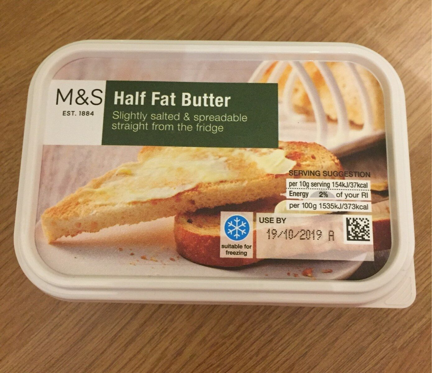 Half Fat Butter - Product