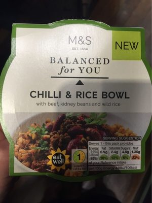 Chilli & Rice Bowl - Product