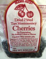 Trader joe's, dried pitted tart montmorency cherries - Product - en
