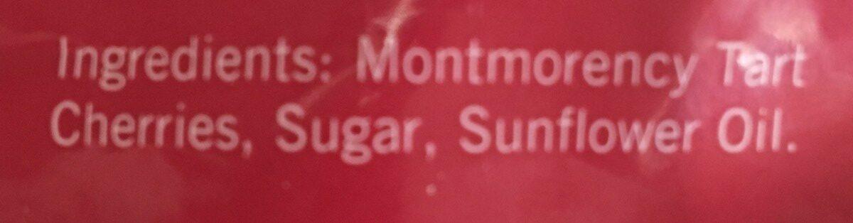 Trader joe's, dried pitted tart montmorency cherries - Ingredients - en