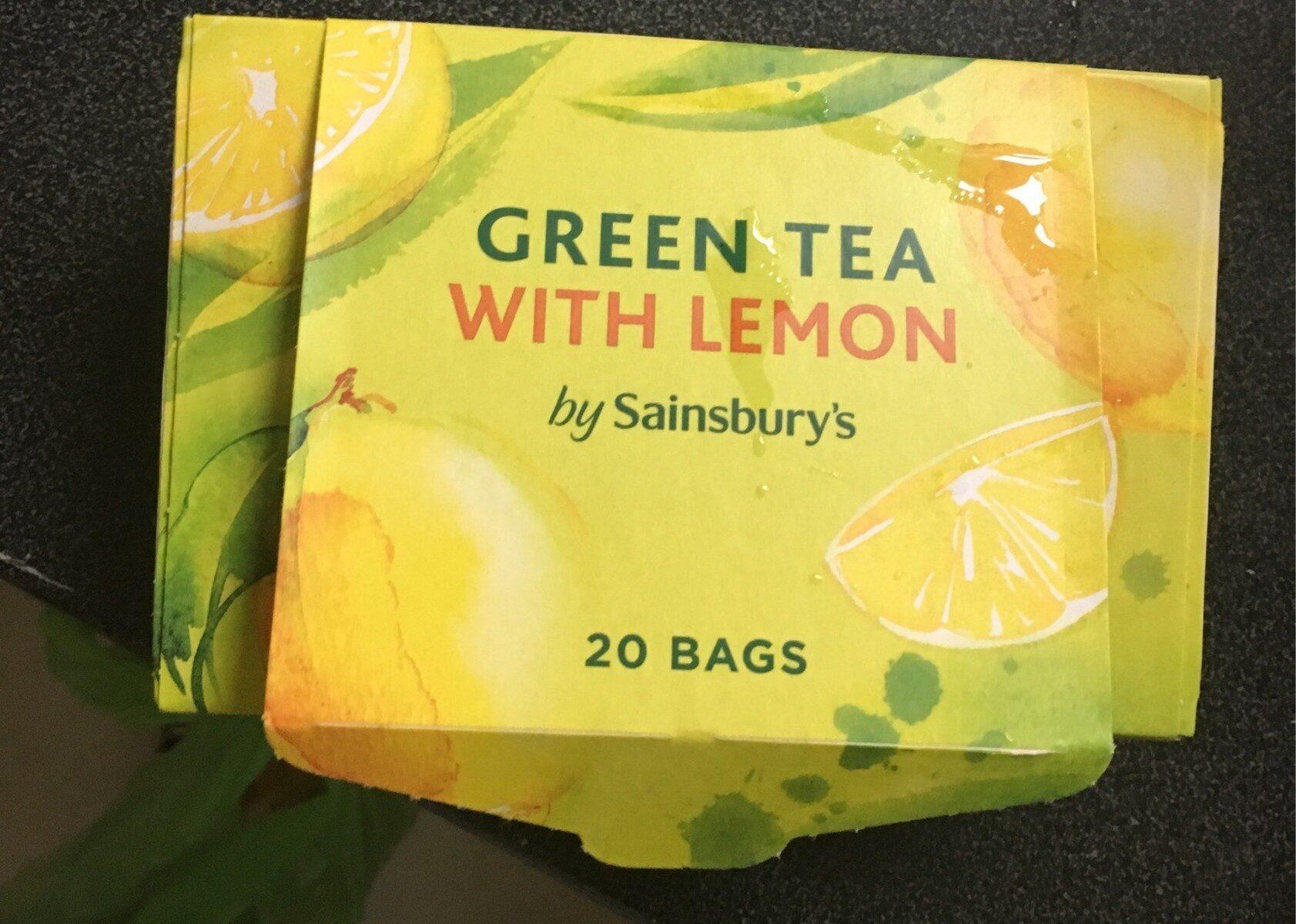 Green Tea With Lemon - Product