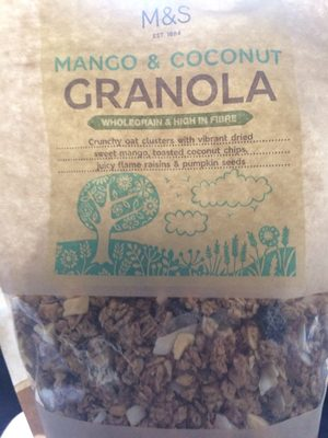 M&S granola mango coco - Product
