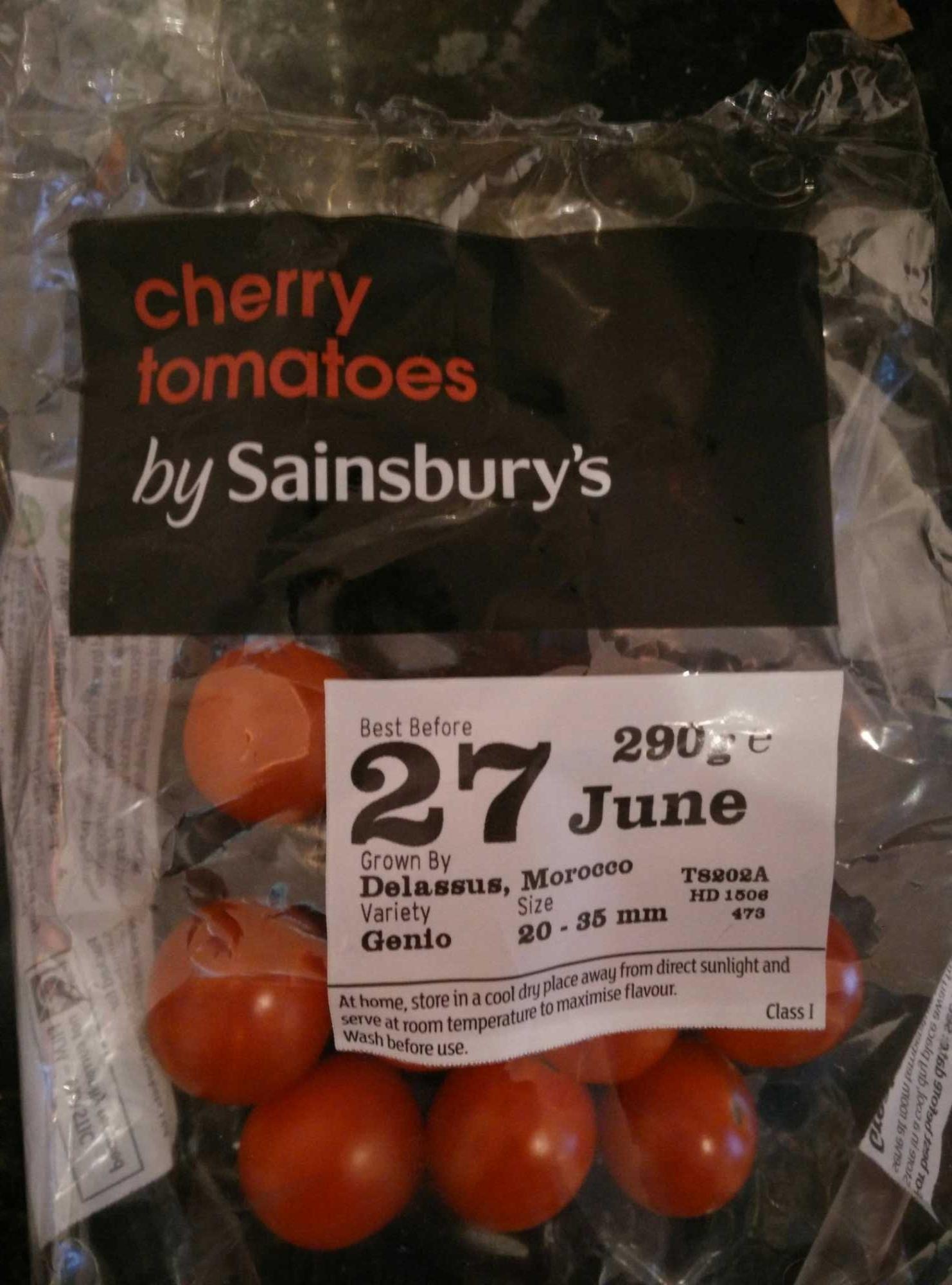 Cherry Tomatoes by Sainsburys - Produit