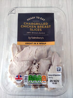 Chargrilled Chicken Breast Slices - Product - en