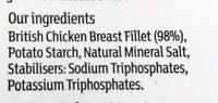 Chargrilled Chicken Breast Slices - Ingredients - en