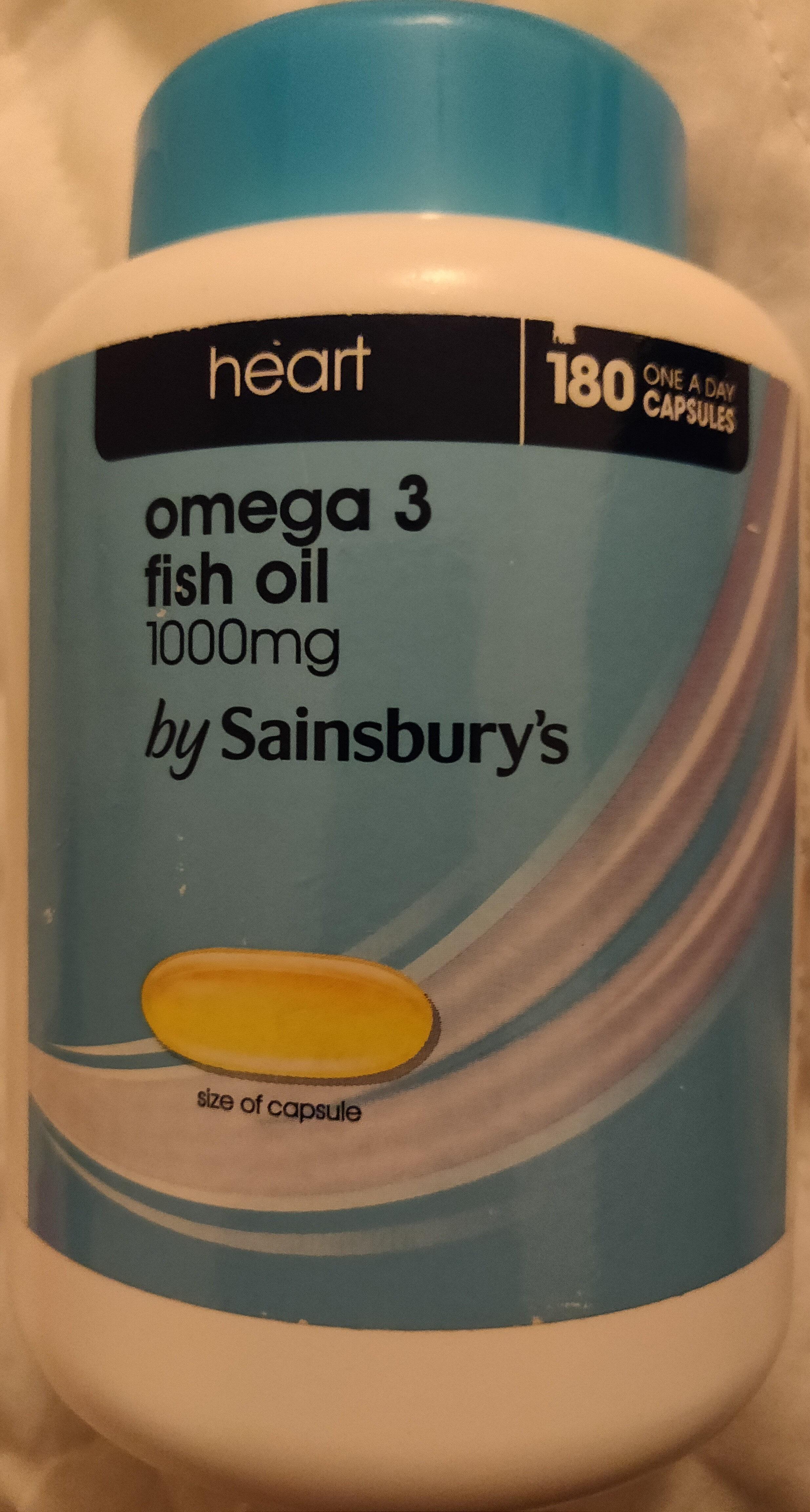 Omega 3 fish oil - Produit - en