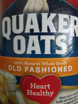 Quaker Oats Old Fashioned Oatmeal 18 Ounce Paper Cannister - Product - en