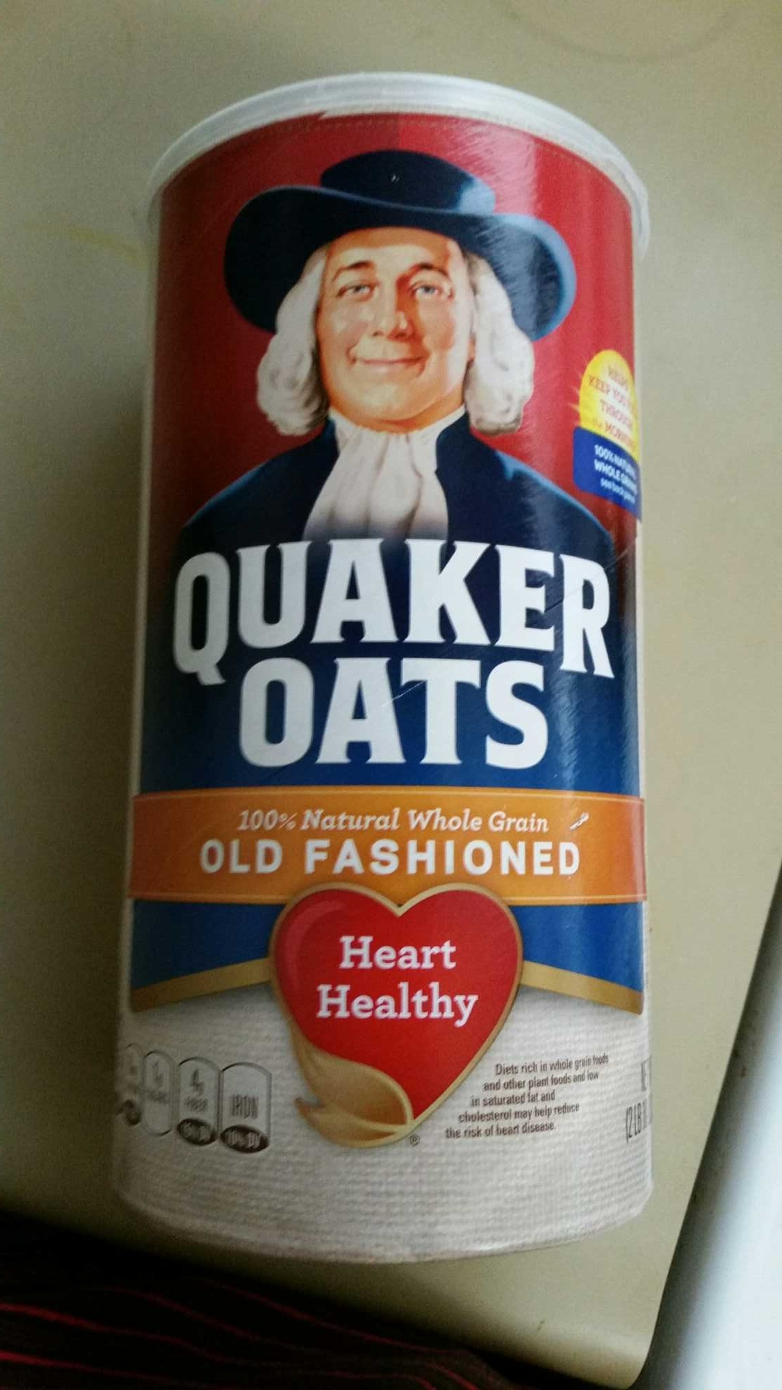 Old fashioned 100% whole grain oats, old fashioned - Product - en