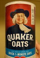 Quaker, 100% natural whole grain oatmeal - Produkt - en