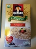 Quaker Select Starts Organic Instant Oatmeal Original (8 - .98 Ounce) 7.9 Ounce 8 pack Paper Packet - Produit