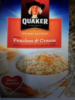 Instant Oatmeal - peaches and cream - Product