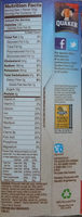Instant Oatmeal - peaches and cream - Nutrition facts