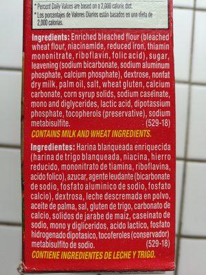 Pancake & Waffle Mix - Ingredients