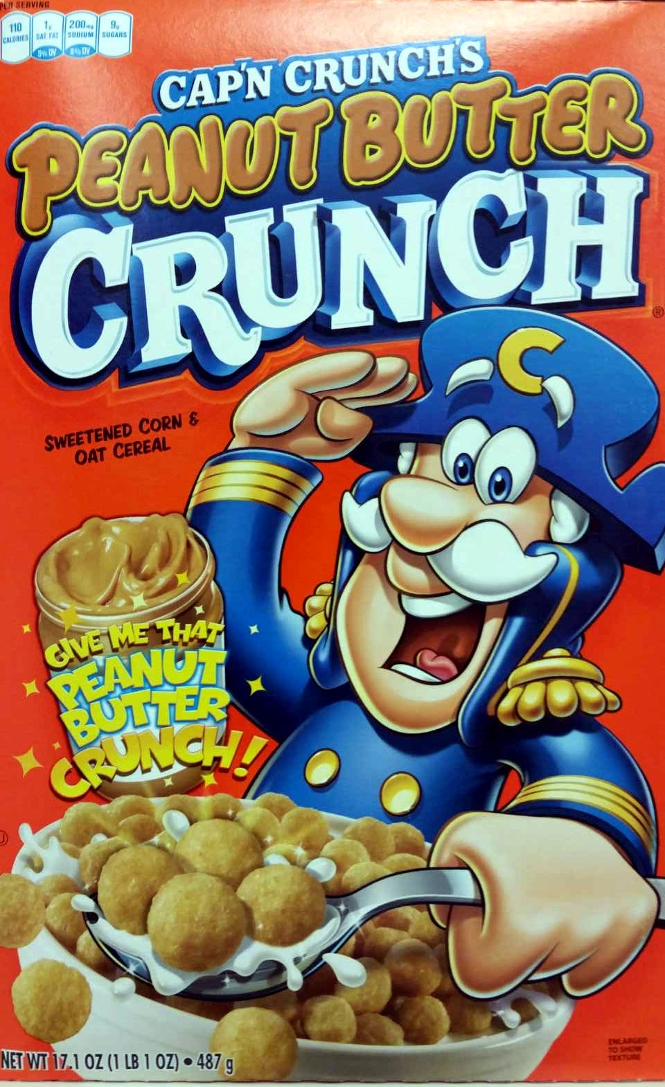 Peanut Butter Crunch - Product