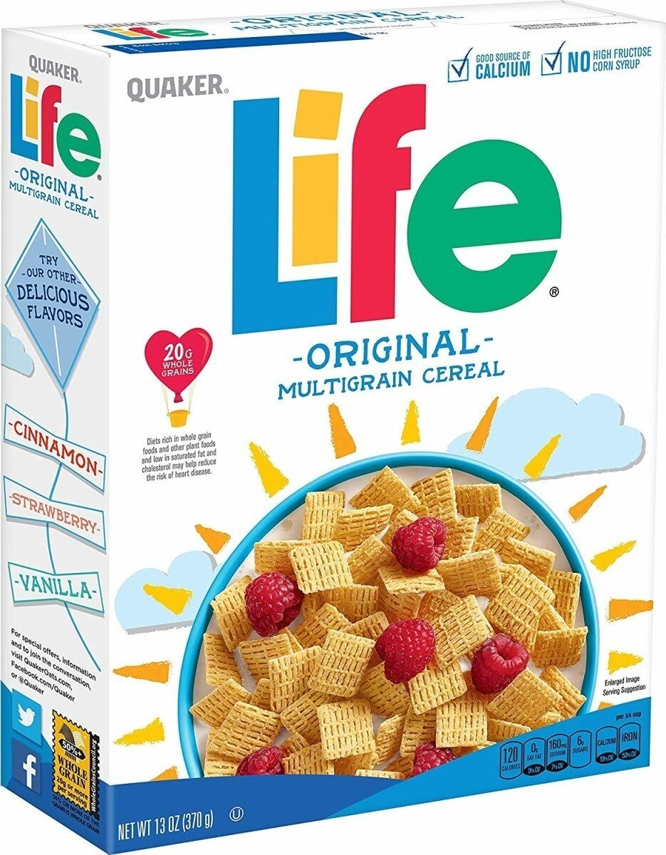Life cereal - Product - en
