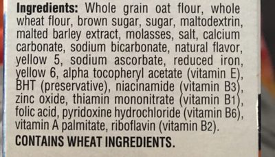 Oatmeal Squares - Ingrediënten