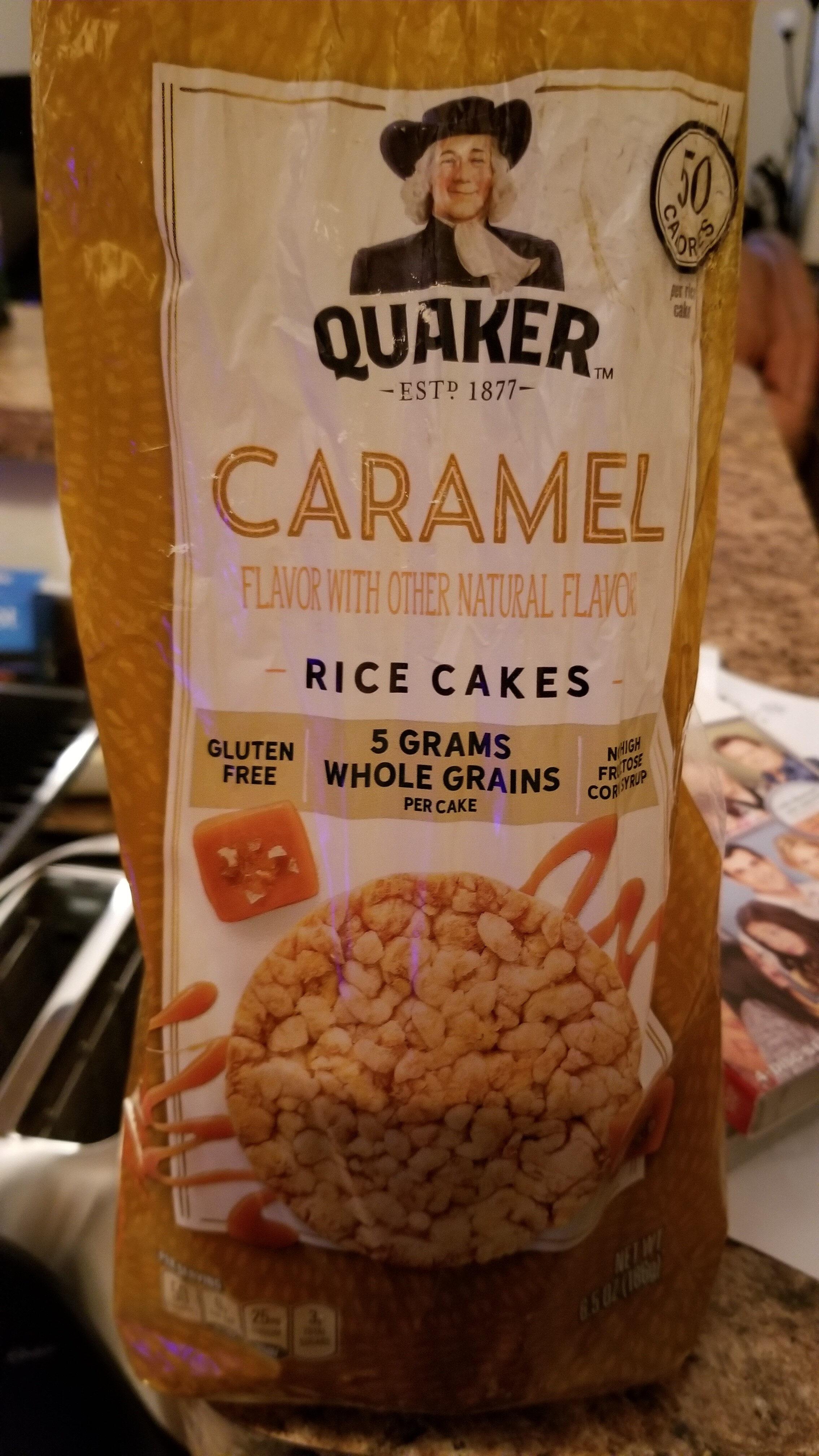 Quaker caramel corn cakes - Product - en