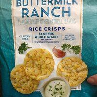 Quaker Ranch Rice Crisps 3.03 Ounce Plastic Bag - Produit - en