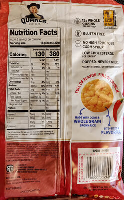 Sweet & spicy chili rice crisps, sweet & spicy chili - Product - en