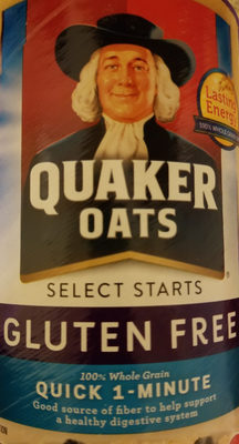 100% whole grain oats quick 1-minute oats - Produit - en