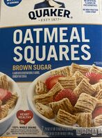Squares crunchy oat cereal, brown sugar - Product - en