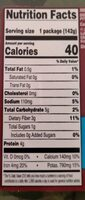 Basket organic baby spinach - Nutrition facts - en