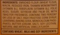 Wafers - Ingredients - en