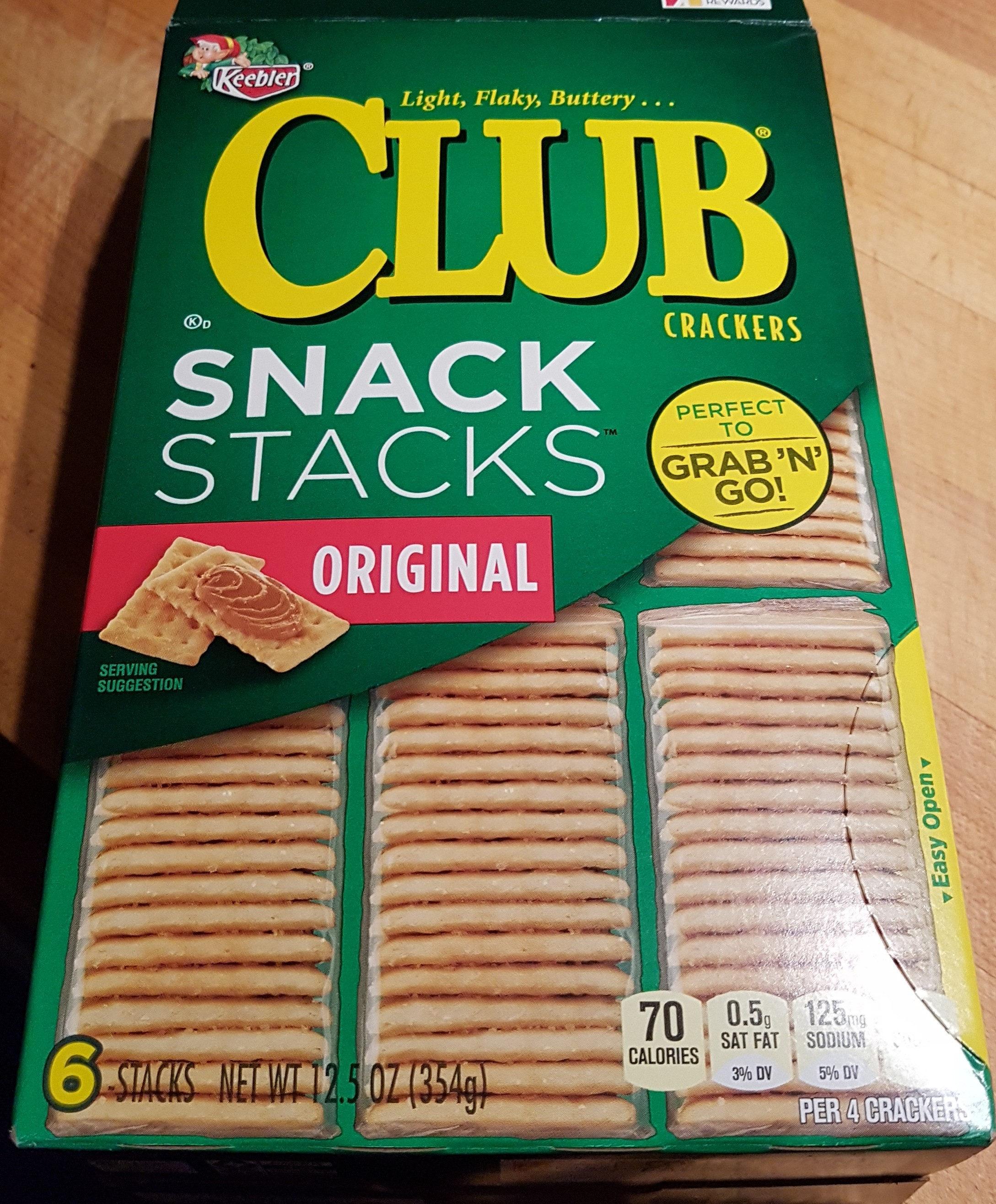 Club crackers - Keebler - 354 g