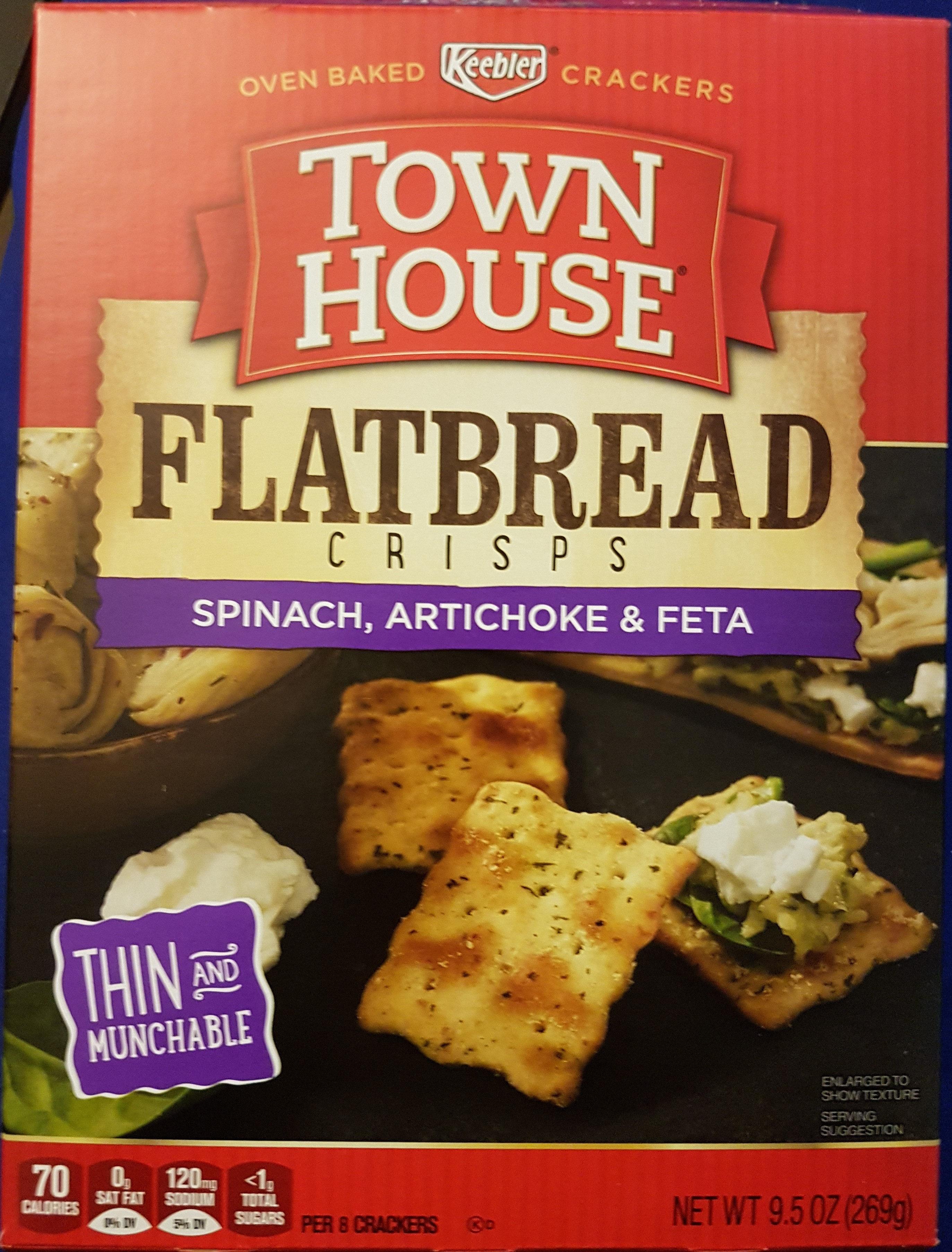 Town House Flatbread Crisps - Product - en