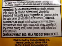 Keebler, e.l.fudge, elfwich butter sandwich cookies, original - Ingredients - en