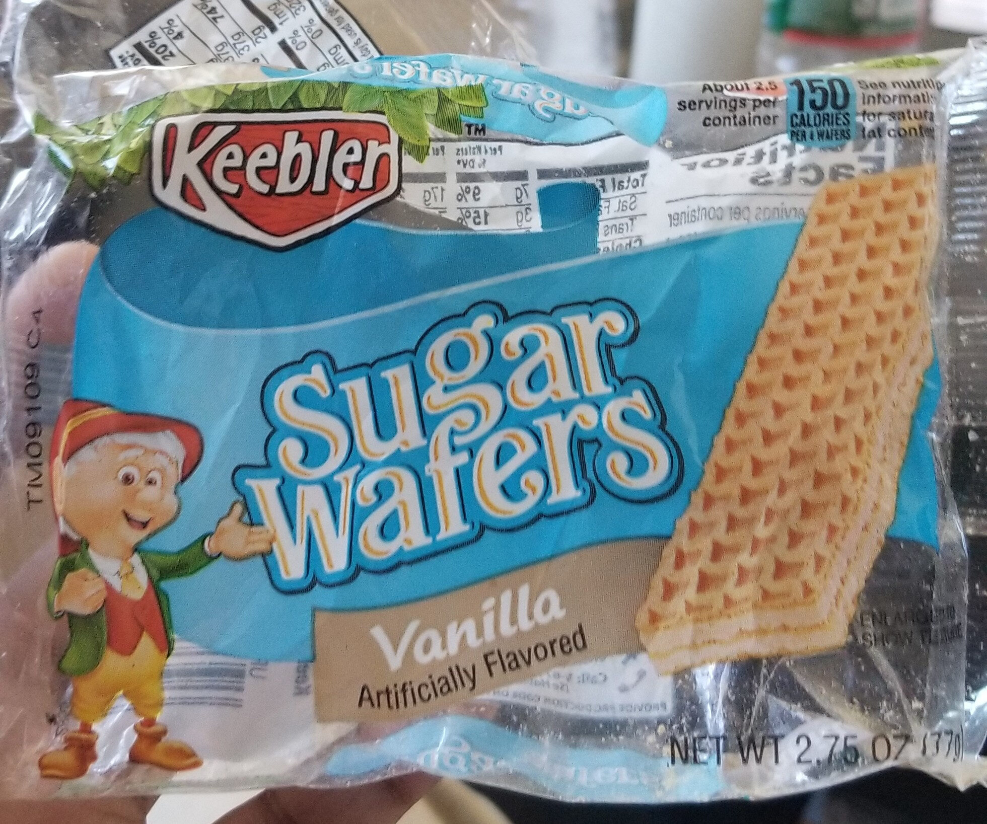 Keebler, sugar wafers, vanilla - Product - en