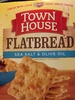 Town house, flatbread crips sea salt & olive oil oven baked snack crackers - Product