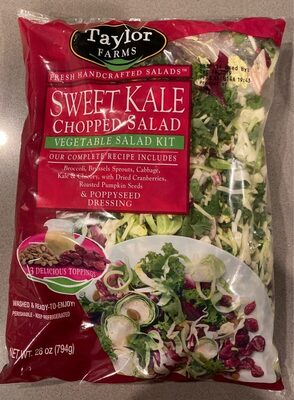 Sweet kale chopped salad - Product