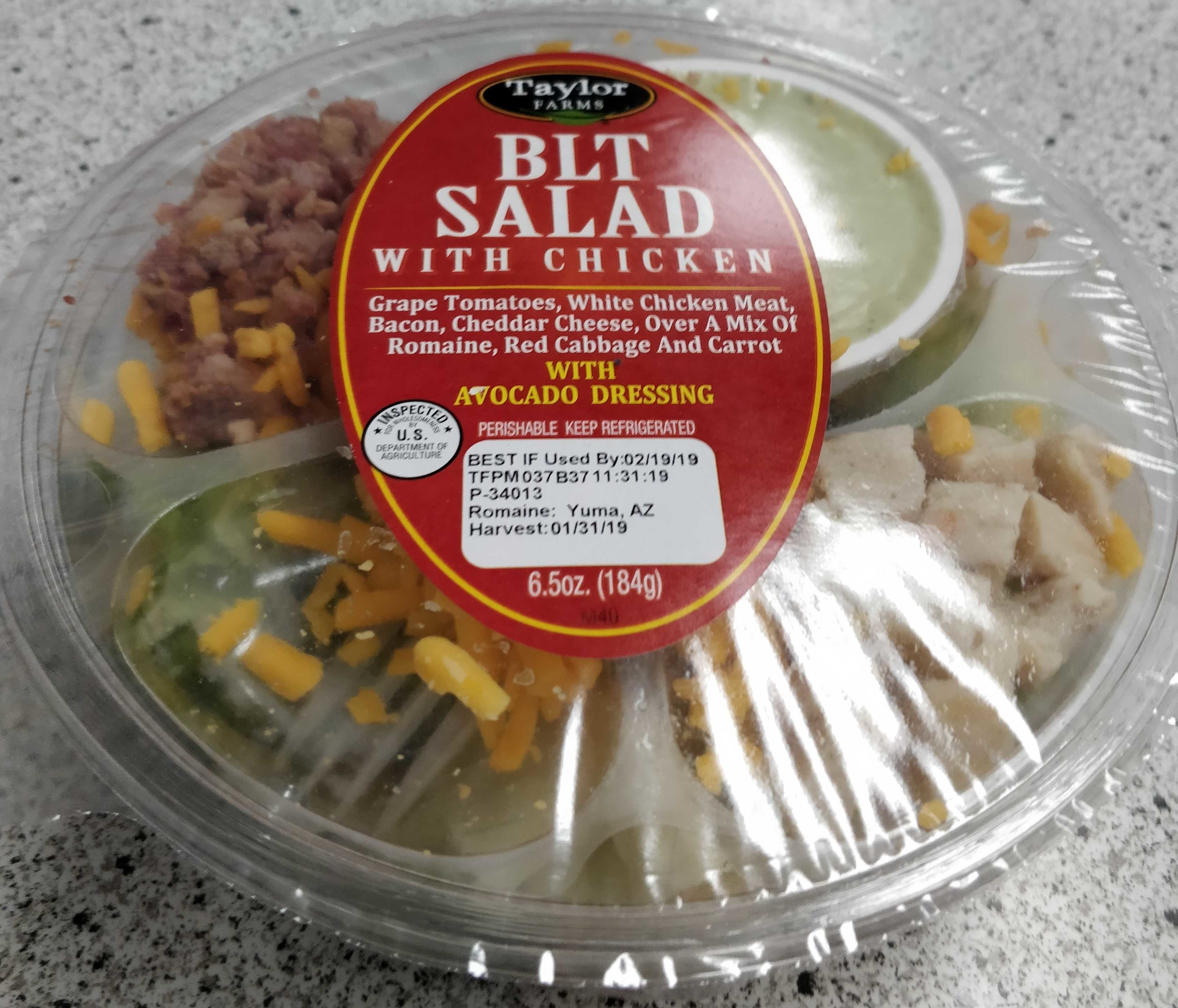 Blt salad with chicken - Product - en