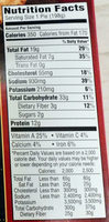 BANQUET Chicken Pot Pie, 7 OZ - Nutrition facts - en