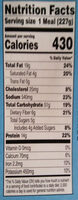 Kid Cuisine - Informations nutritionnelles - en
